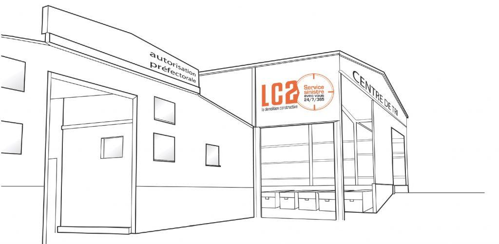 LC2, la démolition constructice